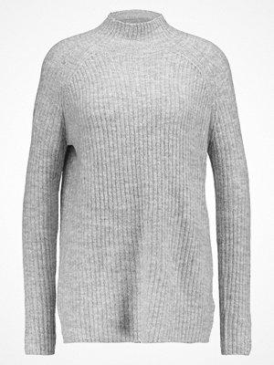 Tröjor - Only ONLORLEANS HIGHNECK  Stickad tröja light grey melange