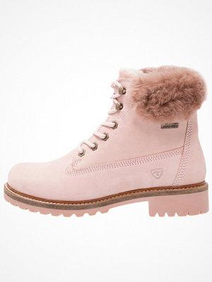 Boots & kängor - Tamaris Snörstövletter rosa