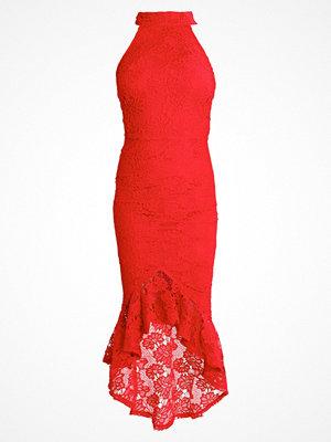 Missguided Festklänning red
