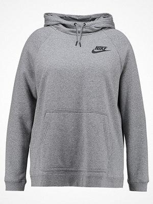 Nike Sportswear RALLY  Luvtröja carbon heather/cool grey/black