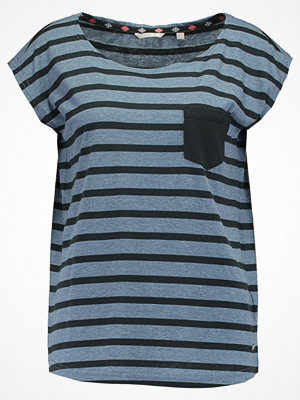 Mustang STRIPED TEE Tshirt med tryck blured