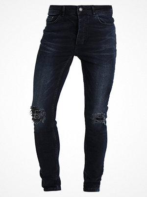 Jeans - YourTurn Jeans slim fit dark blue denim