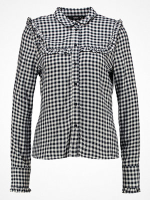 Only ONLARIA  Skjorta cloud dancer/navy blazer checks