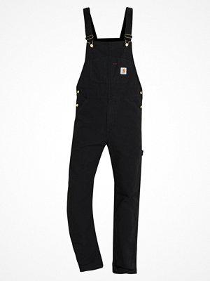 Jeans - Carhartt WIP Hängselbyxor black rinsed