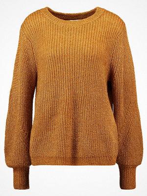 Selected Femme SFDUSA  Stickad tröja golden brown
