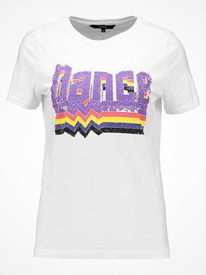 Vero Moda DANCE Tshirt med tryck white