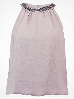 Dorothy Perkins CUTAWAY EMBELLISHED Blus metallic
