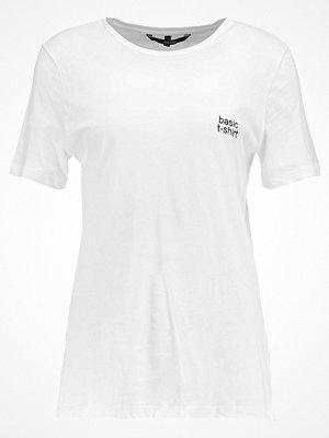 Vero Moda VMBASIC Tshirt med tryck snow white/black