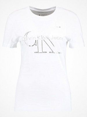 Calvin Klein Jeans TANYA TRUE ICON  Tshirt med tryck bright white