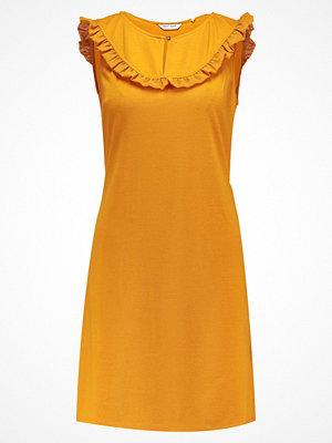 NAF NAF LAVOLETY  Jerseyklänning moutarde
