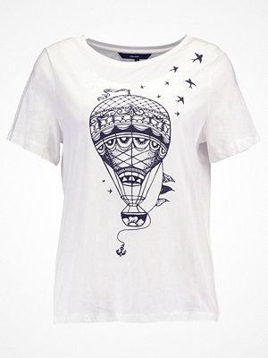 Vero Moda VMBALLOON Tshirt med tryck snow white/black