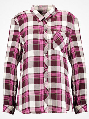 GAP DRAPY PLAID  Skjorta classic burgundy