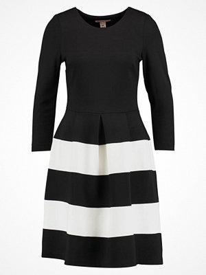 Anna Field Jerseyklänning black white