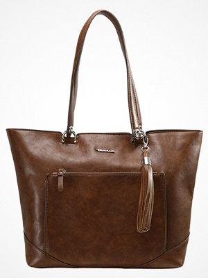 Tamaris brun shopper MELANIE SHOPPING BAG Shoppingväska cognac