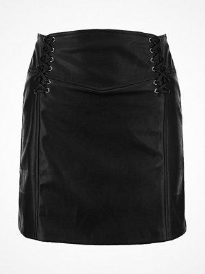 Kjolar - Miss Selfridge CORSET DETAIL  Skinnkjol black
