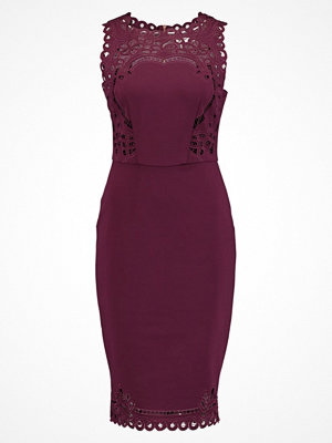 Ted Baker VERITACUT OUT DETAIL BODYCON DRESS Cocktailklänning maroon