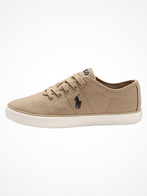Polo Ralph Lauren HALFORD Sneakers boating khaki