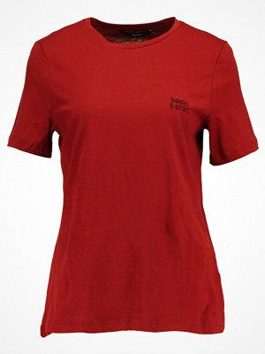 Vero Moda VMBASIC Tshirt med tryck sundried tomato