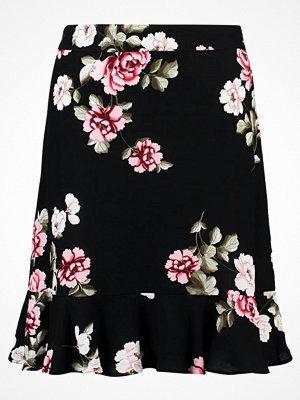 Dorothy Perkins FLORAL PRINT SKIRT Minikjol black