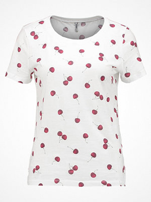 Only ONLMELON CHERRY  Tshirt med tryck cloud dancer
