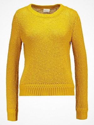 Vila VINOLIA  Stickad tröja nugget gold