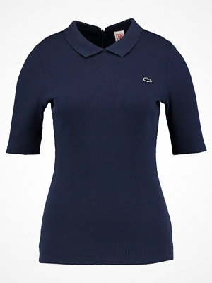 Lacoste Live Tshirt med tryck marine