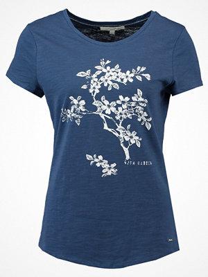Tom Tailor Denim EASY FLOWER Tshirt med tryck blue