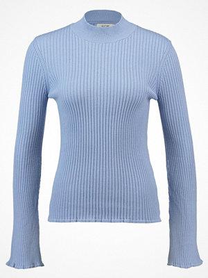 KIOMI CREW NECK TROMPETE  Stickad tröja blue