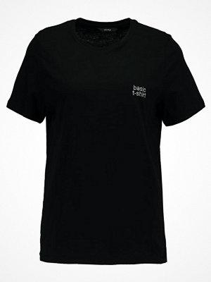 Vero Moda VMBASIC Tshirt med tryck black/silver