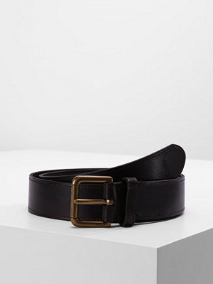 Bälten & skärp - Polo Ralph Lauren CASUAL BELT Skärp dark brown