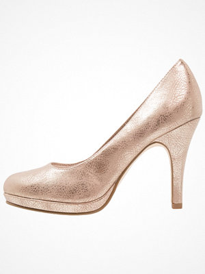 Tamaris Klassiska pumps light gold
