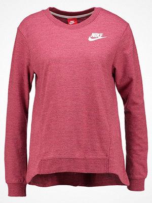 Nike Sportswear GYM VINTAGE Sweatshirt mottled berry