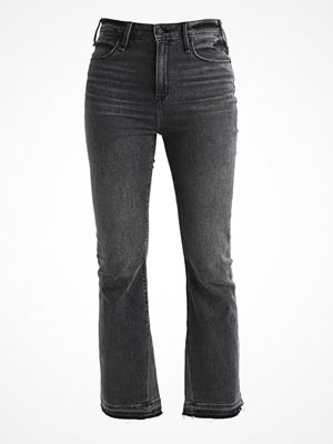 Abercrombie & Fitch ANKLE  Jeans bootcut washed black