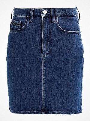 Calvin Klein Jeans TIPP Jeanskjol tipped blue