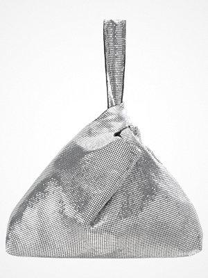 Topshop CHAINMAIL GRAB  Handväska silver