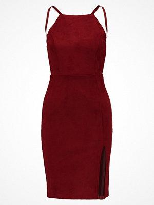 Glamorous Fodralklänning burgundy