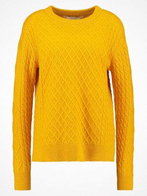 Samsøe & Samsøe HATTIE Stickad tröja golden rod