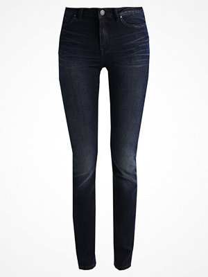 Vila VIJUNAS Jeans slim fit dark blue denim