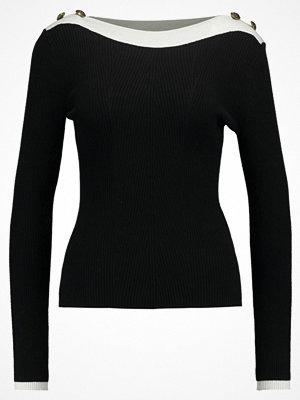 Anna Field Stickad tröja black/ clouddancer
