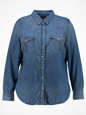 Levi's® Plus WESTERN PLUS Skjorta love blue