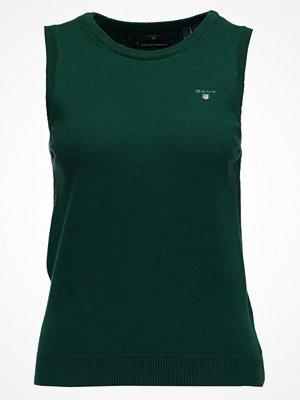 Gant Stickad tröja tartan green