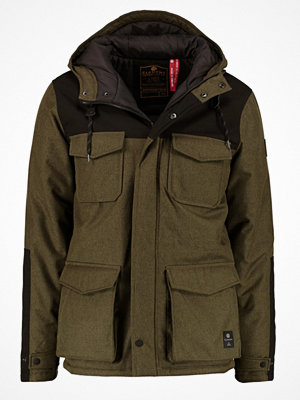 Element HEMLOCK Parkas moss green heather