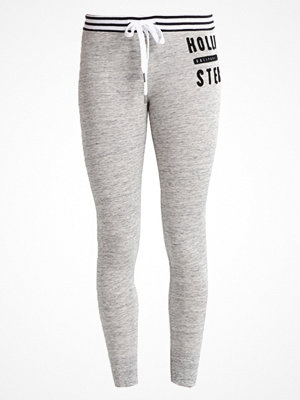 Hollister Co. LOGO Leggings light grey
