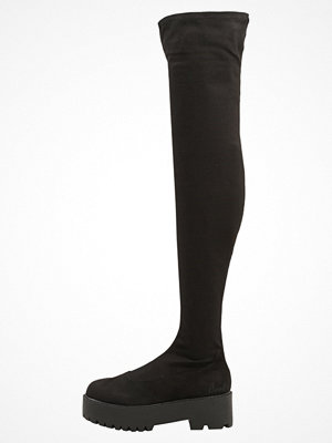 Stövlar & stövletter - Coolway GALA Overkneeskor black