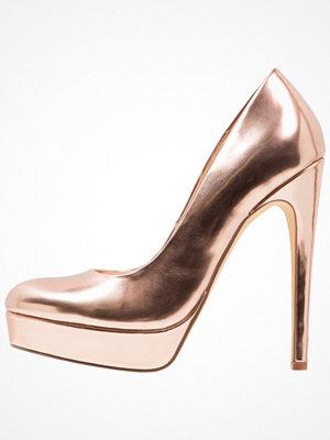 Even&Odd Klassiska pumps rose gold