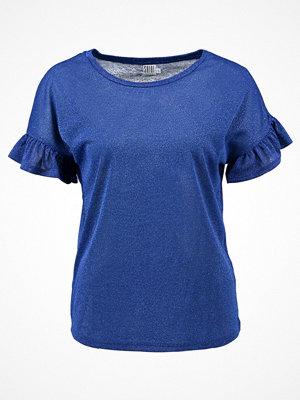 Saint Tropez Tshirt med tryck soft blue