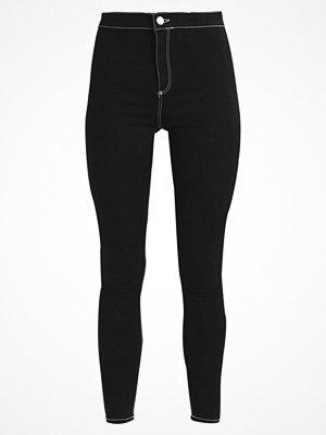 Topshop CONTRAST JONI Jeans Skinny Fit black
