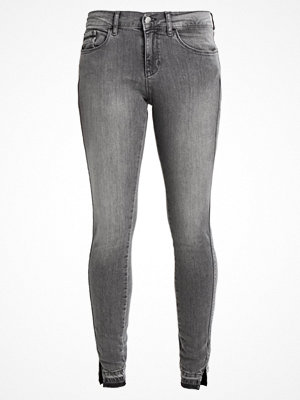 Calvin Klein Jeans MID RISE SKINNY TWISTED Jeans Skinny Fit grey clay