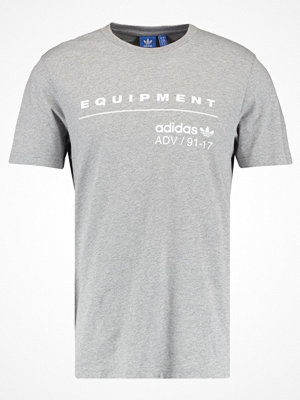 Adidas Originals CLASSIC Tshirt med tryck mgreyh/white