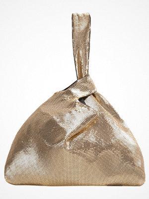 Topshop CHAINMAIL GRAB  Handväska gold